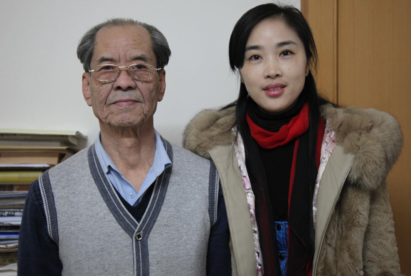 陈忠实和陕西先行董事长徐伊丽.JPG