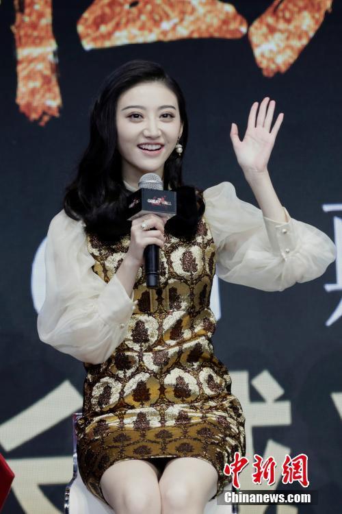 电影《长城》北京发布会 景甜.jpg
