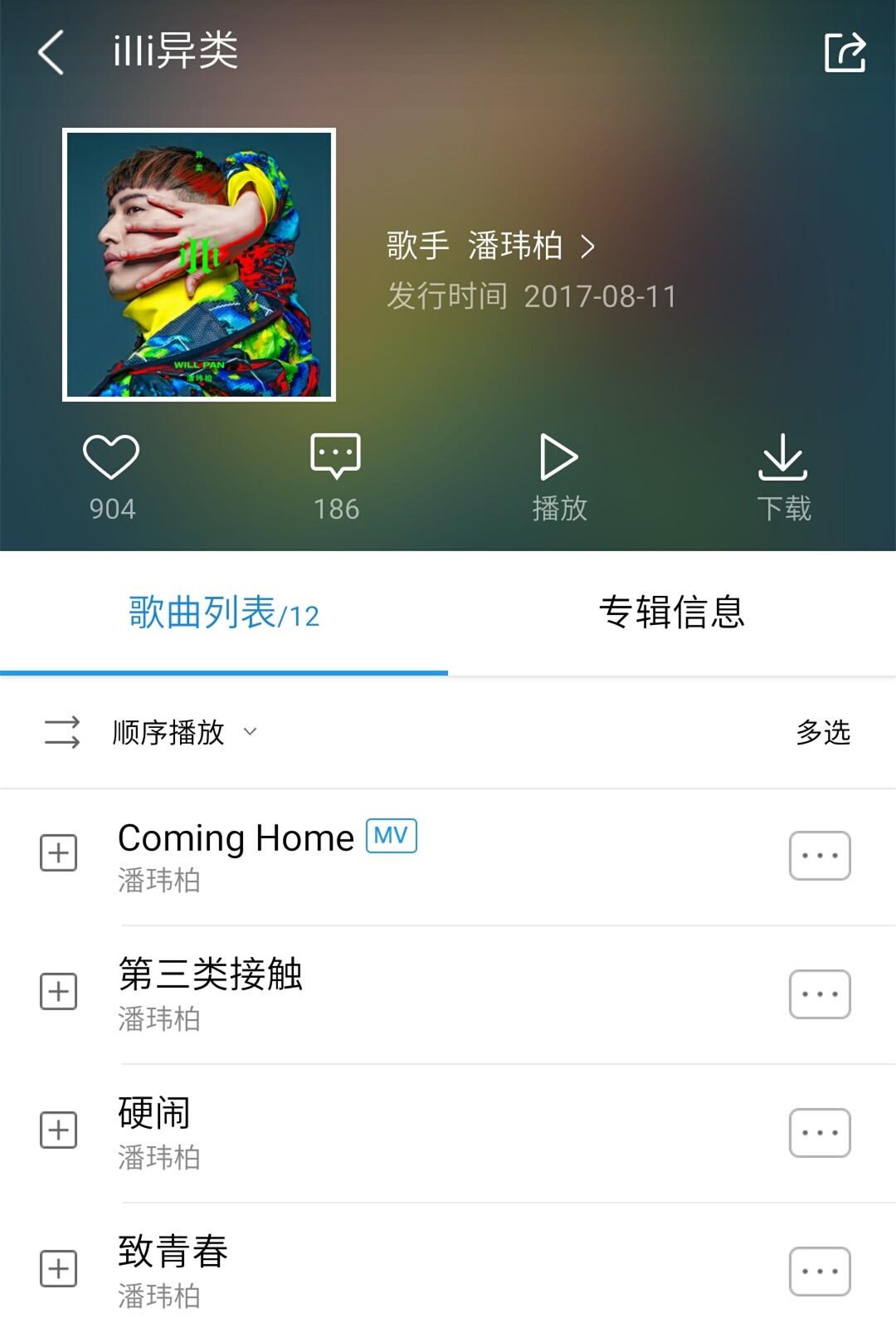 潘玮柏《iIIi异类》专辑歌曲.jpg