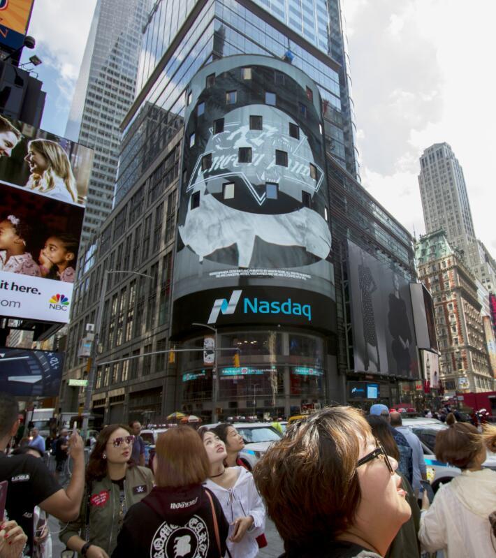 Green Panda震撼亮相纽约时代广场 打造中国街头文化第一品牌