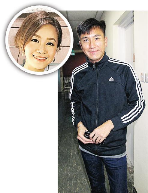 马国明表示跟绯闻女友黄心颖(圆图)看电影是正常社交.jpg