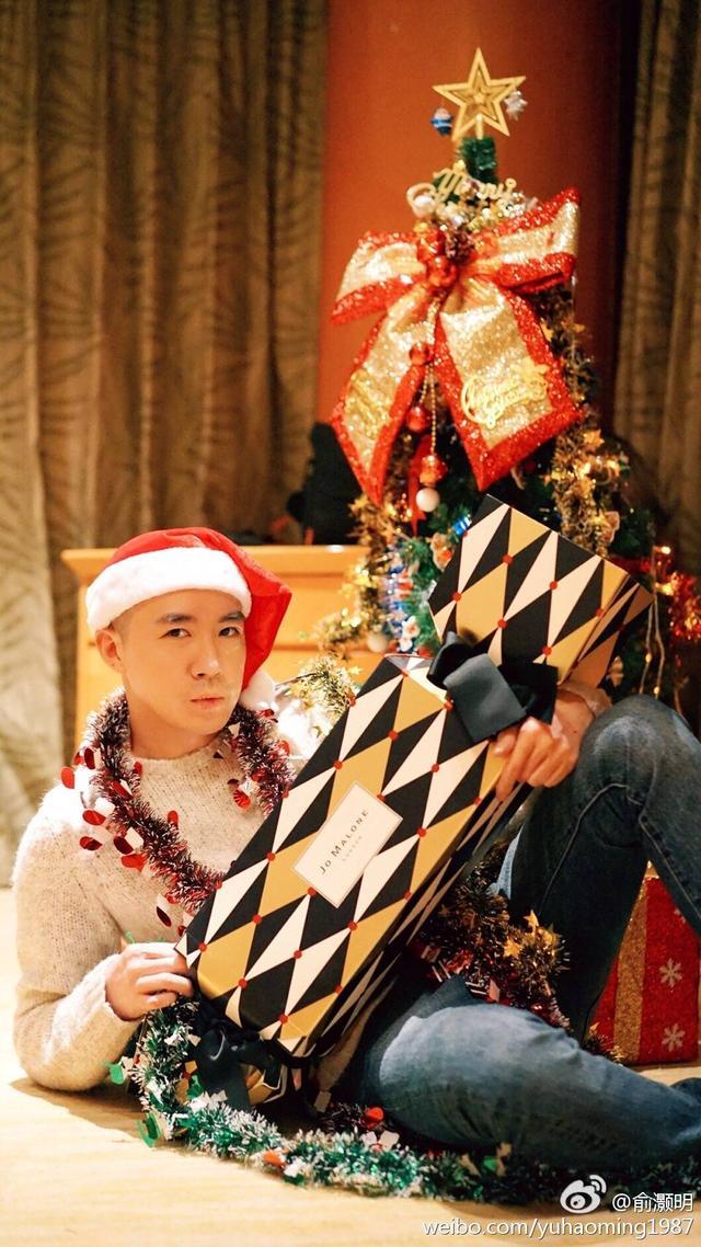 俞灏明过圣诞节.jpg